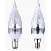 3W LED Crystal Flame Candle Bulb